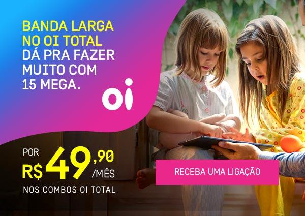 Internet Banda Larga para Casa! Apenas R$49,90/mês.